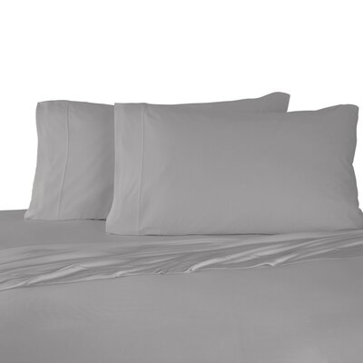 Bare Necessities Jersey Modal Cotton Sheet Set Size: Full/Double, Color: Gray