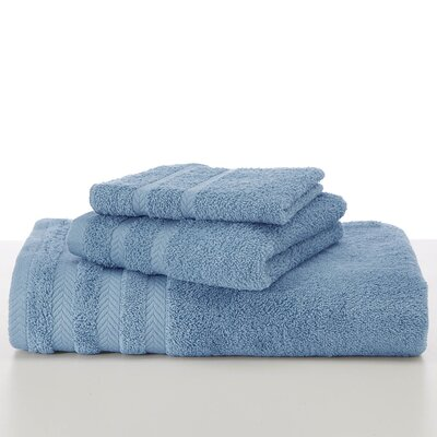 Egyptian Wash Cloth Color: French Blue