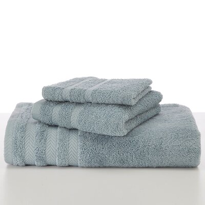 Egyptian Hand Towel Color: Mineral Blue
