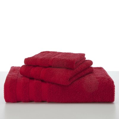 Egyptian Wash Cloth Color: Red