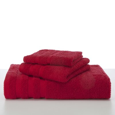 Egyptian Hand Towel Color: Red