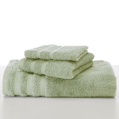 Egyptian Wash Cloth Color: Soft Jade