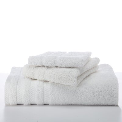 Egyptian Wash Cloth Color: White