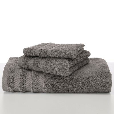 Egyptian Wash Cloth Color: Grey