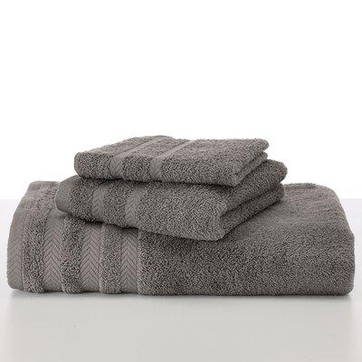 Egyptian Bath Towel Color: Grey