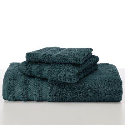 Egyptian Wash Cloth Color: Dark Aqua