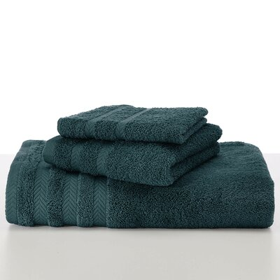Egyptian Bath Towel Color: Dark Aqua