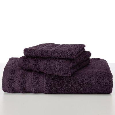 Egyptian Wash Cloth Color: Black Plum