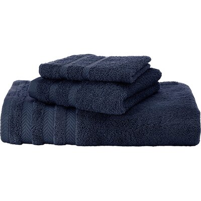 Egyptian Bath Sheet Color: Navy