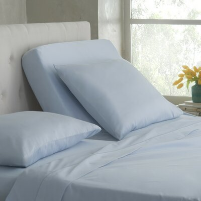 Martex 400 Thread Count 100% Cotton Sheet Set Color: Blue