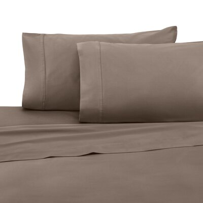 Pillow Case Color: Caribou, Size: King