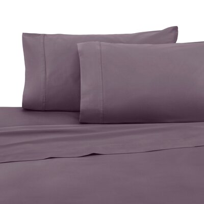 400 Thread Count 100% Cotton Sheet Set Color: Plum, Size: Full