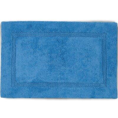 Basic Bath Rug Color: Periwinkle, Size: 20 W x 30 L