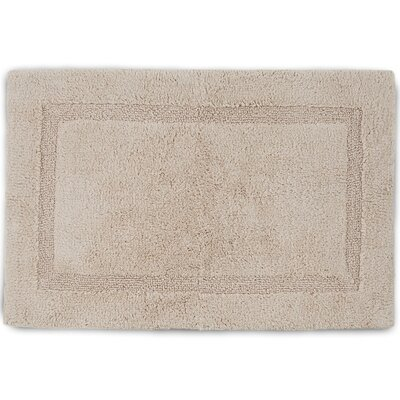 Basic Bath Rug Size: 17 W x 24 L, Color: Cream