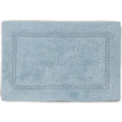 Basic Bath Rug Color: Mineral, Size: 17 W x 24 L