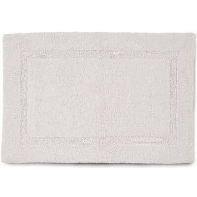 Basic Bath Rug Color: White, Size: 20 W x 30 L
