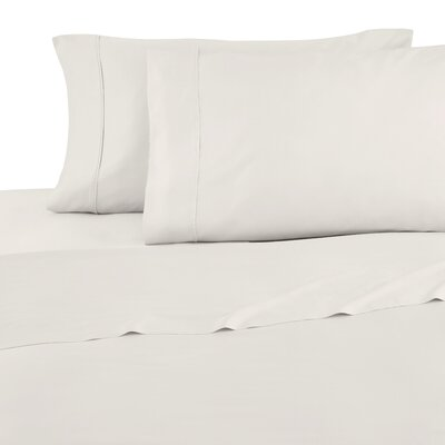 Modal Sateen 300 Thread Count Sheet Set Size: Full, Color: Cream