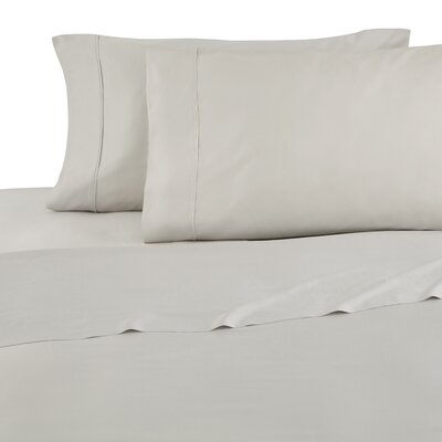 Modal Sateen 300 Thread Count Sheet Set Size: Full, Color: Gray