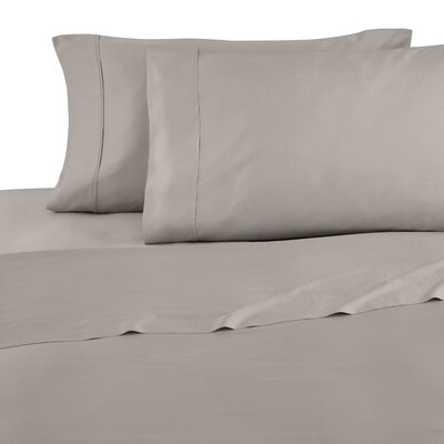 Modal Sateen 300 Thread Count Sheet Set Color: Taupe, Size: Queen