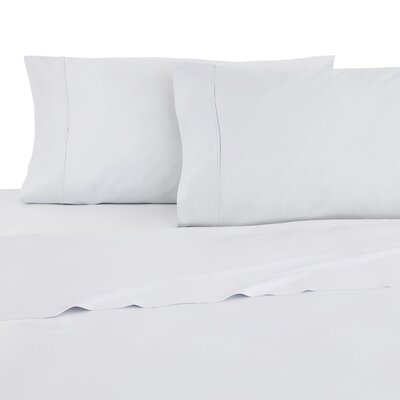 Modal Sateen 300 Thread Count Sheet Set Size: Full, Color: White