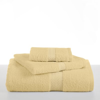 Ringspun Bath Towel Color: Lemon