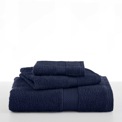 Ringspun Wash Cloth Color: Midnight