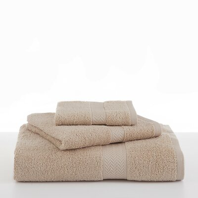Ringspun Bath Towel Color: Sand