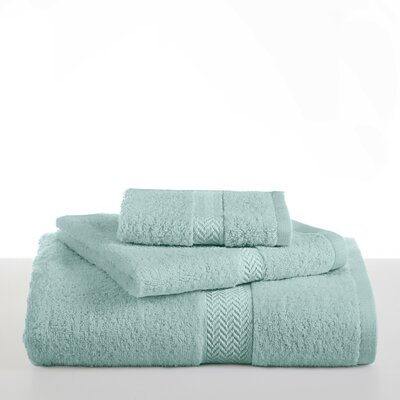 Ringspun Bath Towel Color: Beach Glass