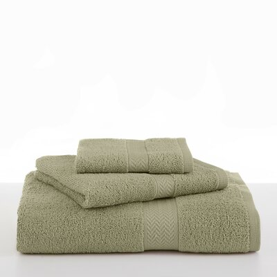 Ringspun Bath Towel Color: Sea Green