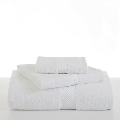 Ringspun Bath Towel Color: Optical White