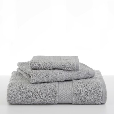 Ringspun Bath Towel Color: Silver