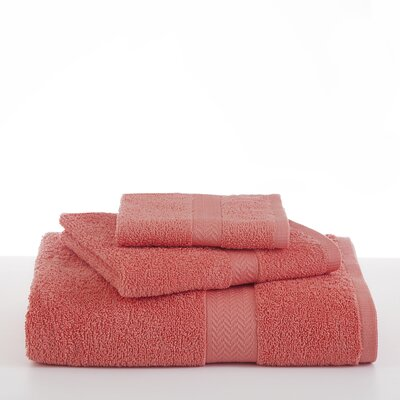 Ringspun Hand Towel Color: Coral