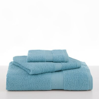 Ringspun Hand Towel Color: Island Blue