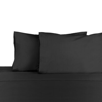 3 Piece 225 Thread Count Sheet Set Color: Ebony, Size: King