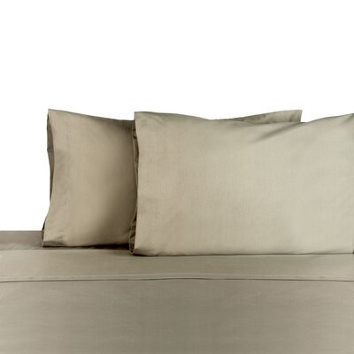 3 Piece 225 Thread Count Sheet Set Color: Graphite, Size: Full/Double
