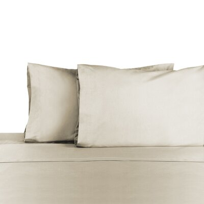 3 Piece 225 Thread Count Sheet Set Color: Ivory, Size: Full/Double