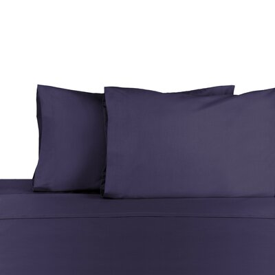 Pillowcase Color: Navy, Size: Standard/Twin
