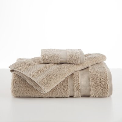 Supima Luxe Wash Cloth Color: Sand