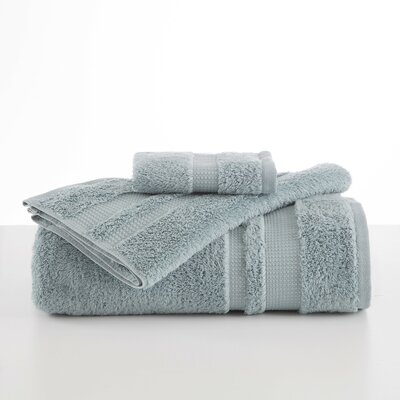 Supima Luxe Wash Cloth Color: Seagrass
