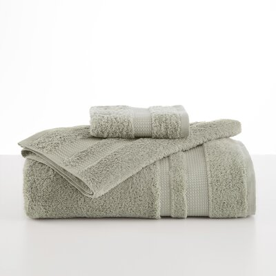 Supima Luxe Hand Towel Color: Celadon