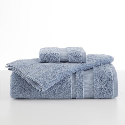 Supima Luxe Wash Cloth Color: Spa Blue
