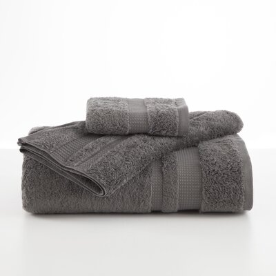 Supima Luxe Hand Towel Color: Gray