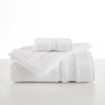 Supima Luxe Hand Towel Color: Optical White