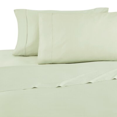 Luxury 1200 Thread Count Sheet Set Color: Fog Green, Size: Queen