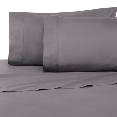 Pillowcase Set Color: Graphite, Size: Full/Double