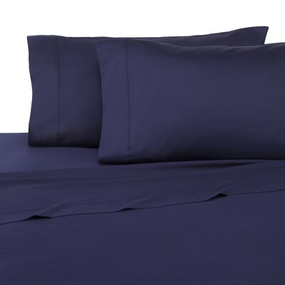 Pillowcase Set Color: Evening Blue, Size: Full/Double