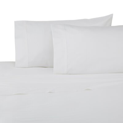 Pillowcase Set Color: True White, Size: Twin
