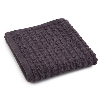 Staybright Textured Wash Cloth Color: Night Shade