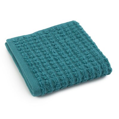 Staybright Textured Wash Cloth Color: Peacock