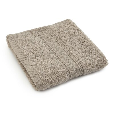 Staybright Solid Wash Cloth Color: Latte